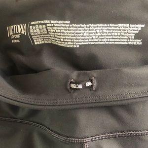 Victoria Secret Sport Gray Tight w mesh detail